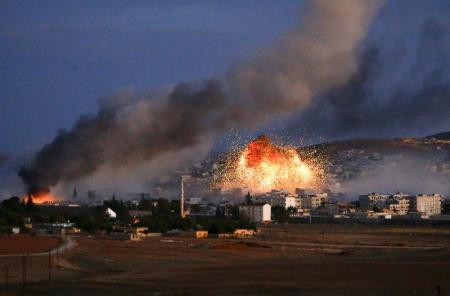 تركيا تسمح لاكراد العراق بتعزيز القوات في كوباني