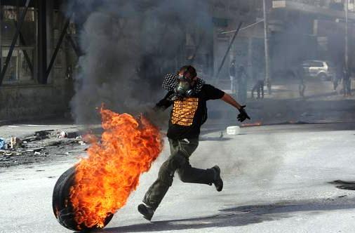 احتجاج فلسطين