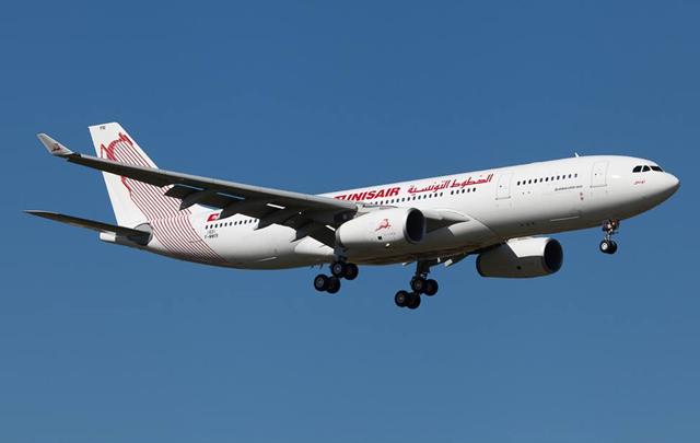 طائرة الخطوط التونسية الجديدة  أ330