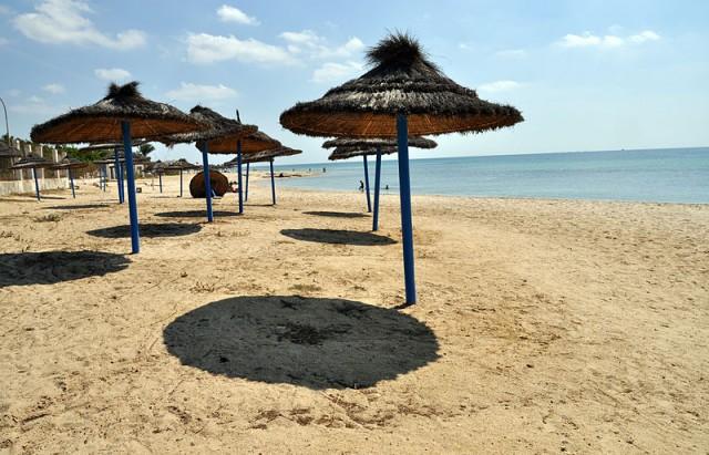 Nabeul plage نابل  بحر شاطئ