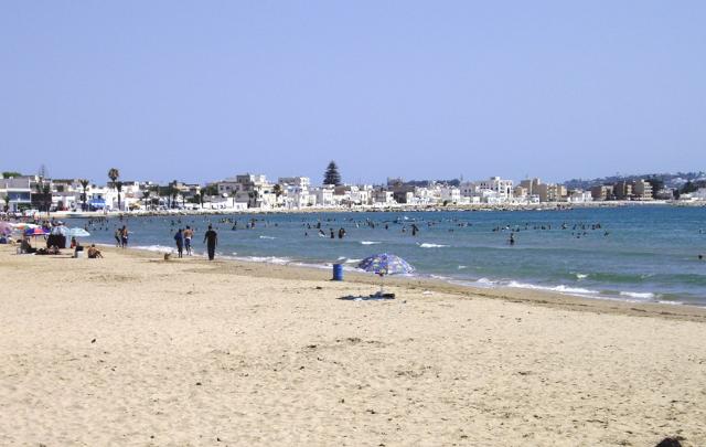 goulette plage شاطئ