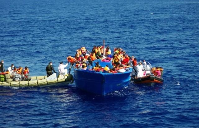méditerranée immigrés  مهاجرين