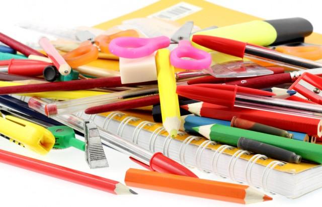 petites fournitures scolaires, rentrée des classes