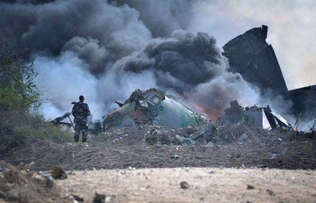 Somalia Military Plane Crash