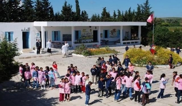 ecole_primaire_tunisie_مدرسة