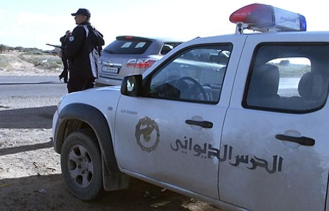 garde douane حرس الديواني
