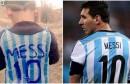 أثارت صورة طفل عراقي يلبس قميصا من البلاستيك مكتوب عليه اسم ميسي ورقم 10 الخاص في المنتخب الأرجنتيني وفريق برشلونة الإسباني، مواقع التواصل الاجتماعي.