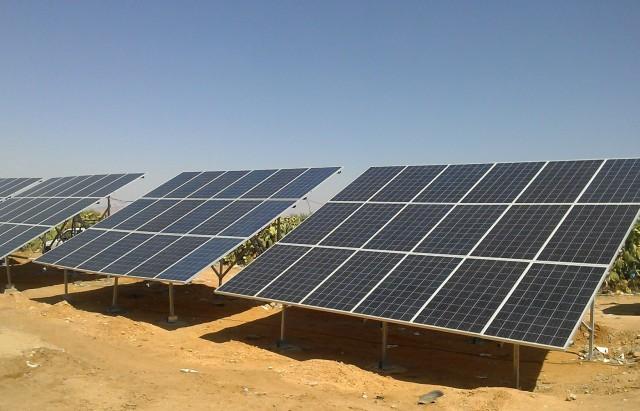 Pannaux -solaire  طاقة شمسية