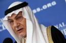 Prince Turki Al Faisal of Saudi Arabia Holds News Conference On Plot To Kill Saudi Ambassador