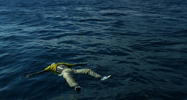 MIGRANT FLOATS  غرق مهاجرين mort