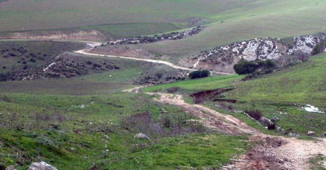 siliana فلاحة طريق  فلاحية سليانة  agriculture