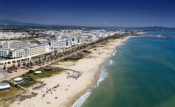 plage-tunisie hammamet  حمامات سياحة   tourisme