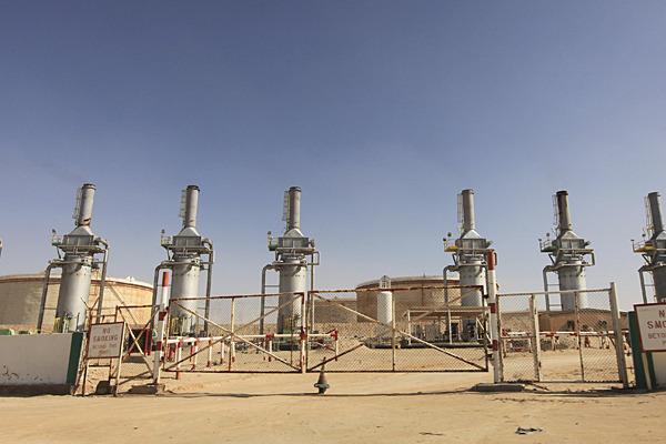 gaz  petrole borma tunisie  البرمة بترول vanne