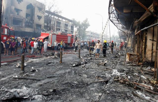 200 قتيل في تفجير الكرادة