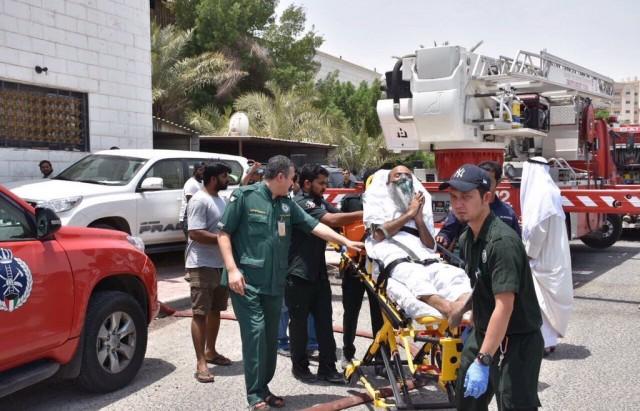 الكويت.. مقتل 9 أشخاص وإصابة 23 آخرين في حريق