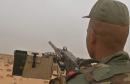 جيش تونس مدفعية منطقة عازلة  defense tunisienne arme