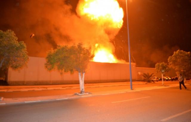 maroc  explosion