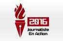 journaliste en action