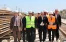 وزير النقل يضع اولى سكك مشروع الشبكة الحديدية السريعة