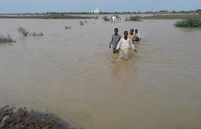 soudan  innondation السودان فيضانات