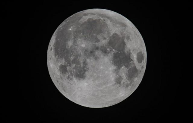 Supermoon lune