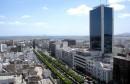 Tunis Ave Habib Bourguiba ville