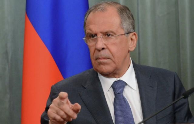 وزير الخارجية الروسي لافروف 2