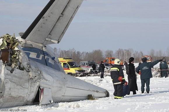 sibiria crash avion