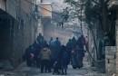 اجلاء السكان من حلب
