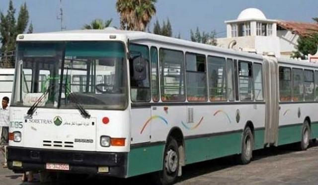 bus transport  حافلة