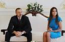 الهام عليف رئيس أذربيجان يعين قرينته نائبا له