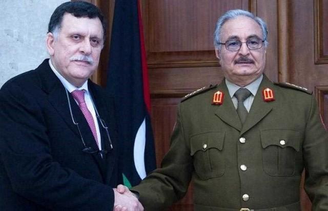 ليبيا... السراج يبدي استعداده للقاء خليفة حفتر