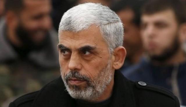 يحيى السنوار  اول ظهور علني للسنوار منذ ترأسه حركة حماس في غزة