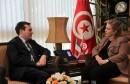 لقاء وزيرة السياحة بكاتب الدولة للشؤون الخارجية الإيطالي لبحث التعاون الاقتصادي والسياحي