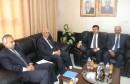 وكيل وزارة الداخلية يلتقي السفير التونسي