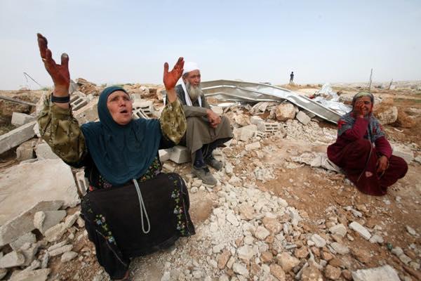 فلسطين هدم البيوت