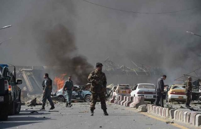 kaboul  كابول  تفجير أفغانستان  Afganistane