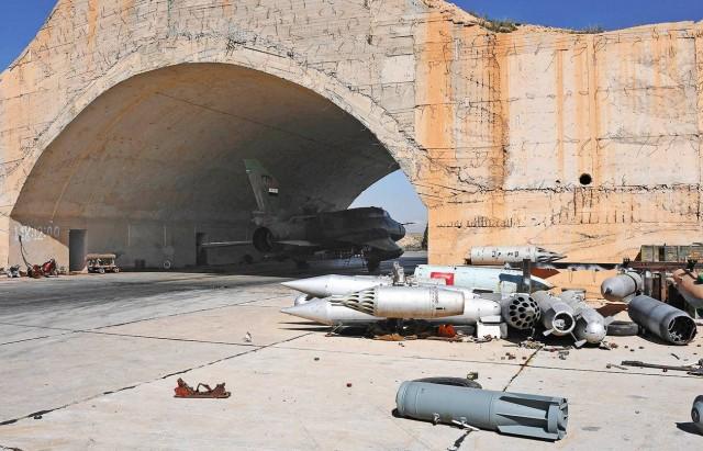 قصف امريكي في سوريا