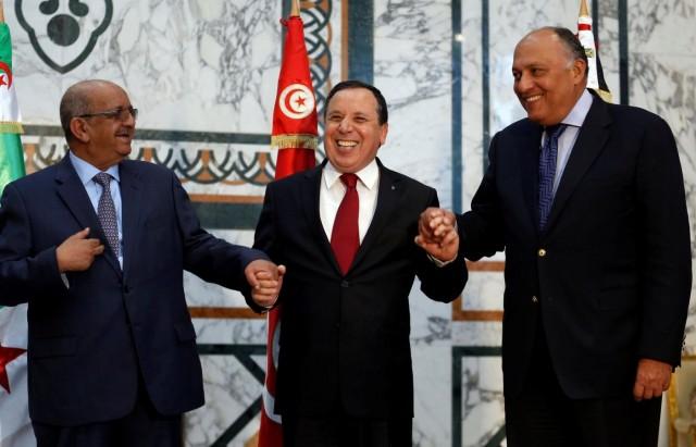 Image result for اجتماع الجزائر بشأن، ليبيا