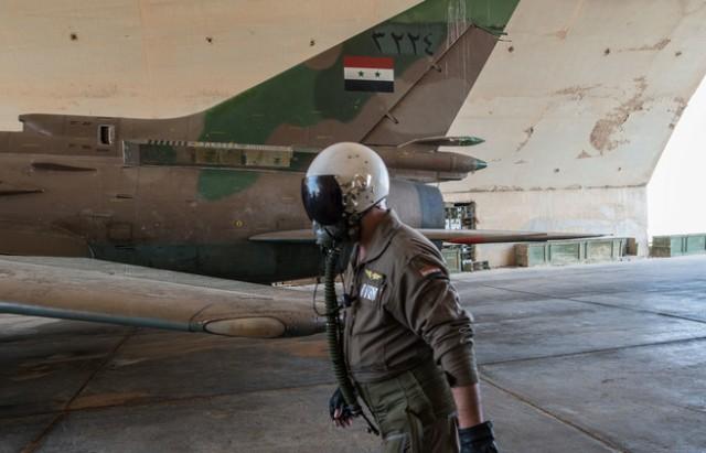 pilote syrien