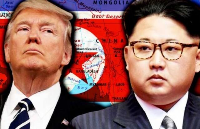 trump kim  ترامب  كوريا