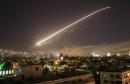 ضربات عسكرية اميركية وبريطانية وفرنسية على مواقع عسكرية في سوريا