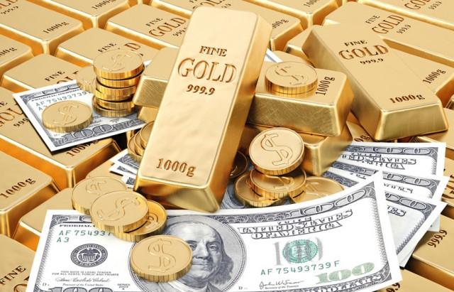 gold vs dollar