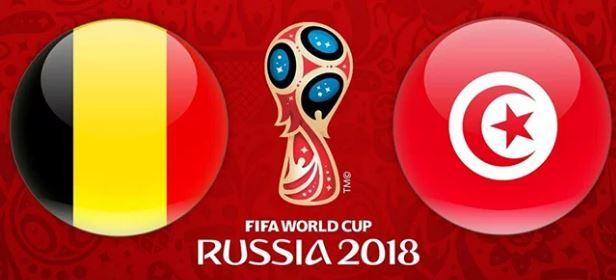 تونس بلجيكا كاس العالم روسيا 2018