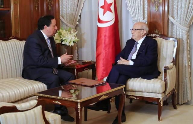 رئيس الجمهورية يستقبل خميس الجهيناوي وزير الشؤون الخارجية
