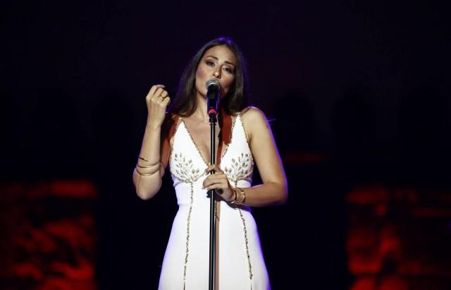 مسرح مهرجان قرطاج الدولي الفنانة اللبنانية هبة الطوجي