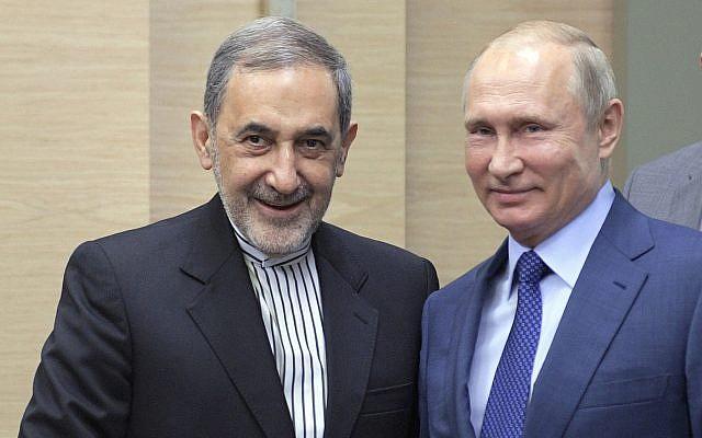 بوتين و علي اكبر ولايتي