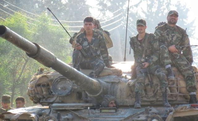 الجيش السوري يدخل درعا