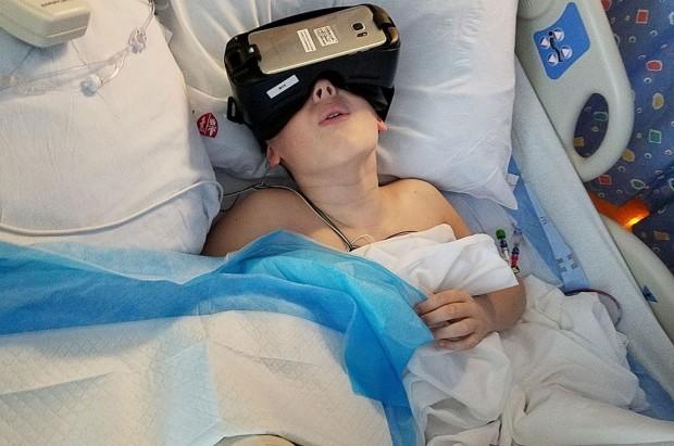 الافتراضي لمقاومة الالم