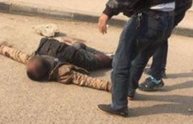 مقتل ارهابي مصر